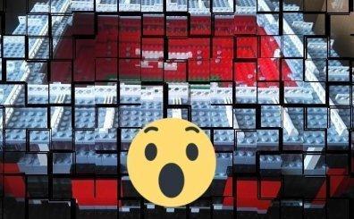 Legolardan stadyum yaptılar!..