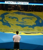 �sve�'te �ok �zel Zlatan Ibrahimovic pankart�, o mesaj...
