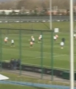 Manchester City idman�nda herkesi �a�k�na �eviren gol!