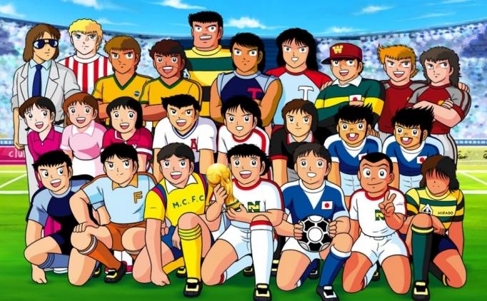 Sadece Tsubasa efsanesinde görebileceğimiz futbol olayları