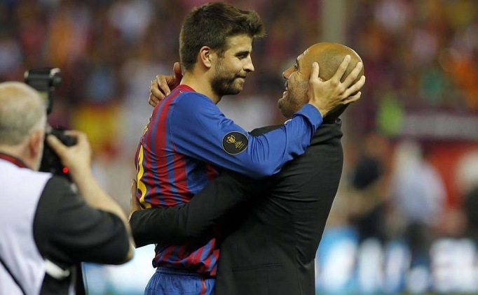 Pique ve Guardiola'ya ödül!