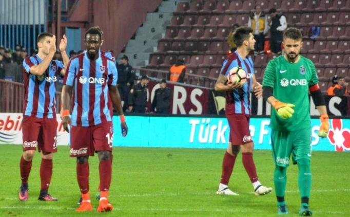 Trabzonspor'da puanlarla birlikte primler de gitti