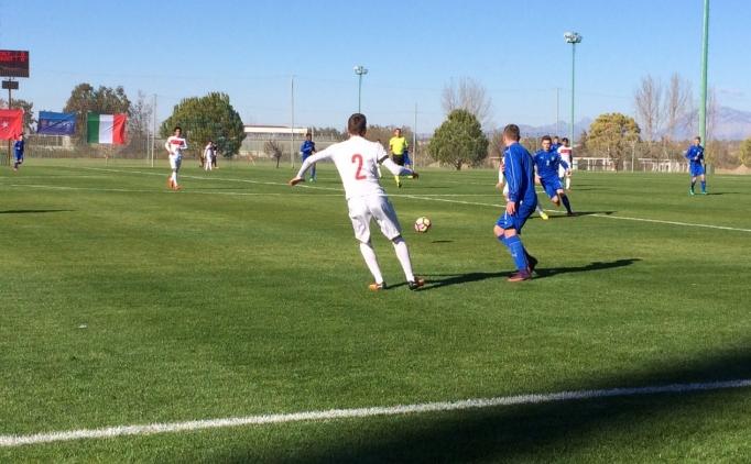 Trabzonspor'un gençleri attı; Türkiye U16, İtalya'yı yıktı