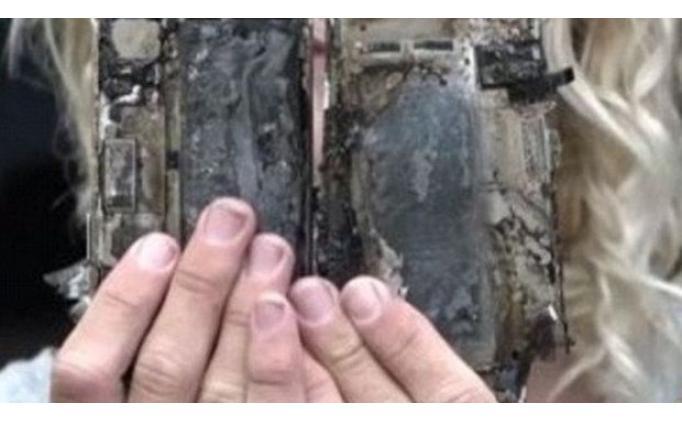 iPhone 7 patladı, araba göz göre göre yandı