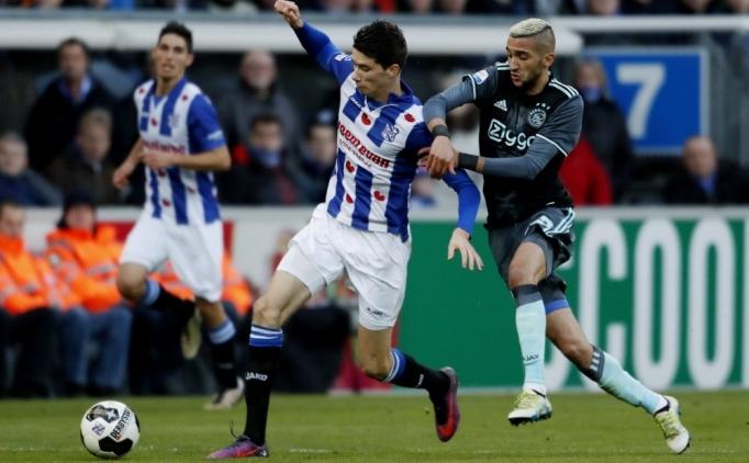 Ajax, tek golle kazandı