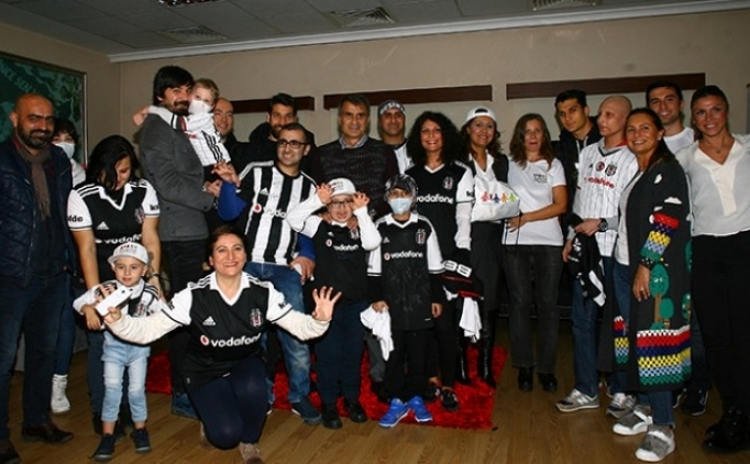 Beşiktaş'a anlamlı ziyaret