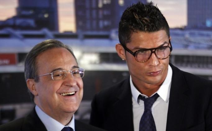 Perez'den Zidane ve Ronaldo'ya övgü
