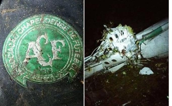 Futbolcuları taşıyan uçak düştü!