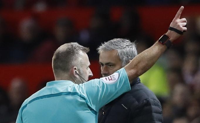 'Tekmeci Mourinho' cezayı yedi