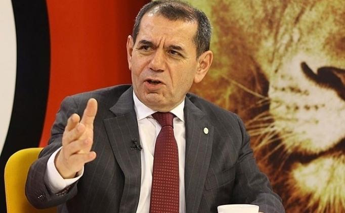 Dursun Özbek: 'Para istemeyi biliyorsunuz'