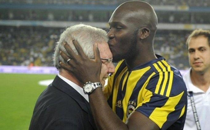 Fenerbahçe'de Aziz Yıldırım'dan Moussa Sow'a jest