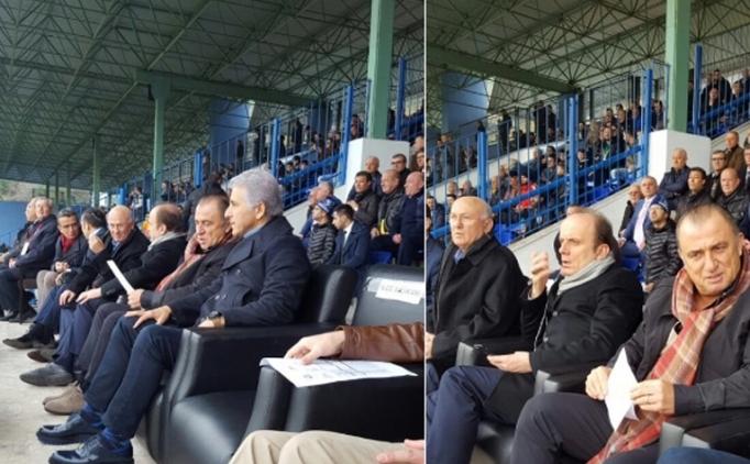 Fatih Terim bu kez 2. Lig maçını izledi
