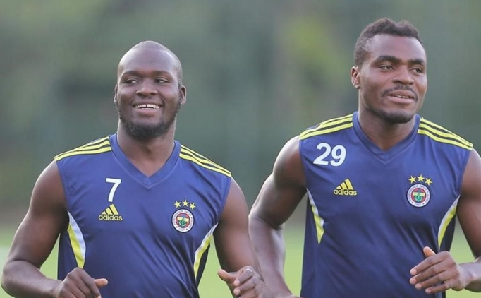 Moussa Sow & Emmanuel Emenike  / Fenerbah�e