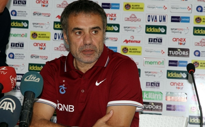 Trabzonspor teknik direkt�r� Ersun Yanal