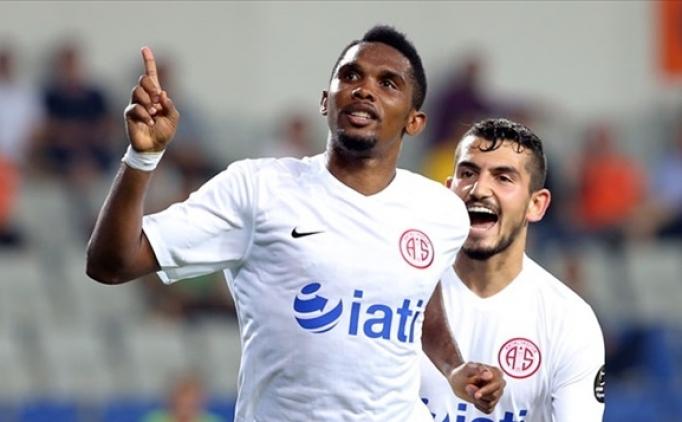 Antalyaspor'dan Eto'o ve Trabzonspor iddialarına cevap