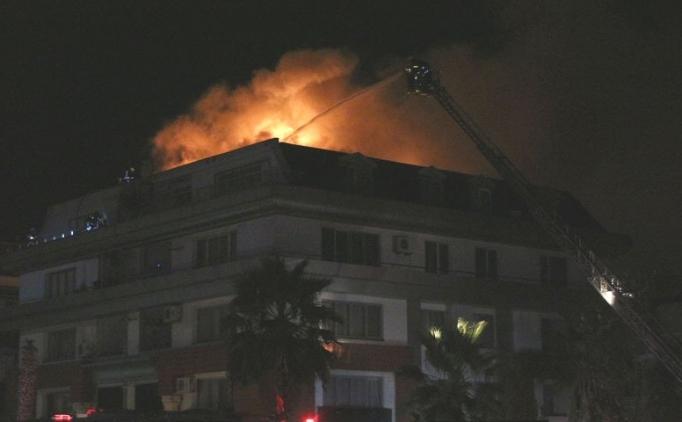Cavanda'nın oturduğu rezidansta yangın çıktı!