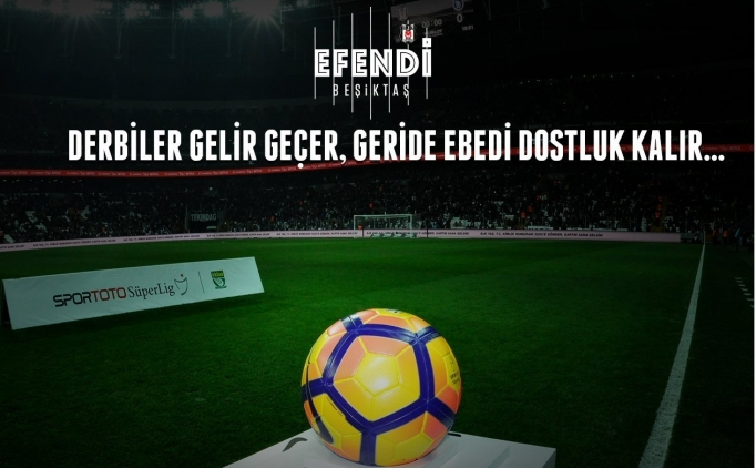 Beşiktaş'tan Fenerbahçe derbisi için paylaşım