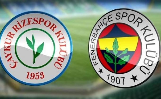 Lig TV'de Çaykur Rizespor Fenerbahçe canlı şifresiz izle