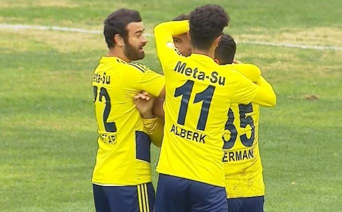Menemen Belediye Amed'i 2 golle yıktı