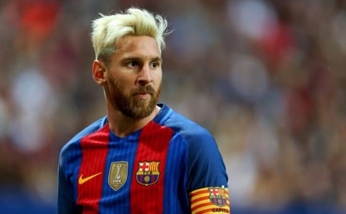 Messi, saçını neden sarıya boyattı?