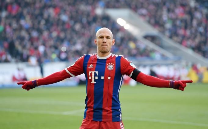 Bayern, Robben'i bırakmak istemiyor!