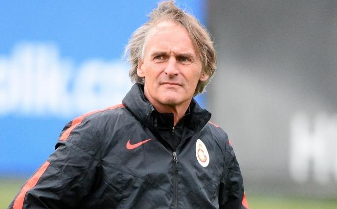 Galatasaray'da Riekerink'e şartlı evet!