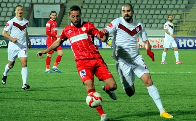 Samsun'da puanlar paylaşıldı