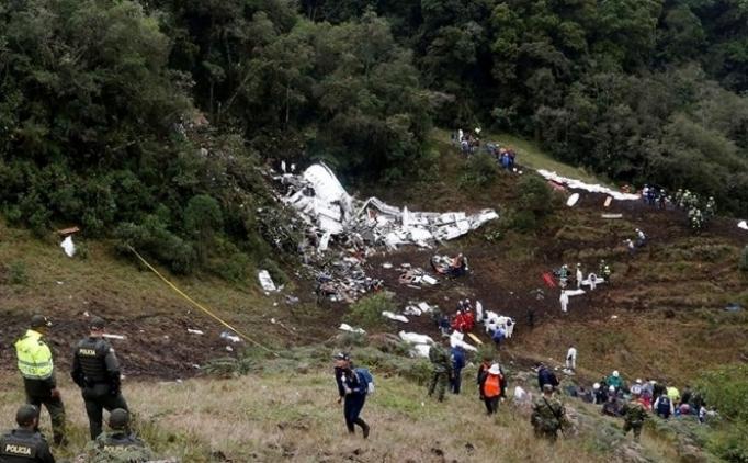 Chapecoense'yi taşıyan uçak hakkında yeni açıklama