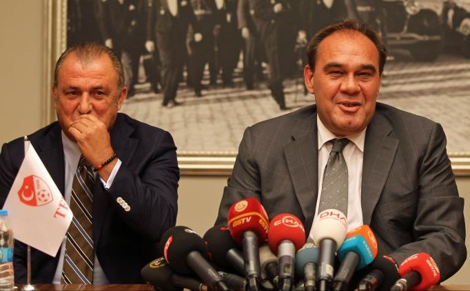 Fatih Terim, Y�ld�r�m Demir�ren'e rapor verecek