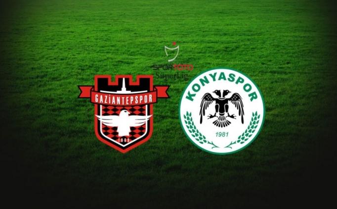 Atiker Konyaspor-Gaziantepspor maçı hangi kanalda saat kaçta?