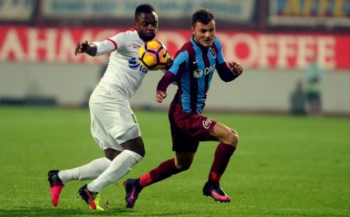 Trabzonspor, Antalya'da zorlanıyor; 42. randevu