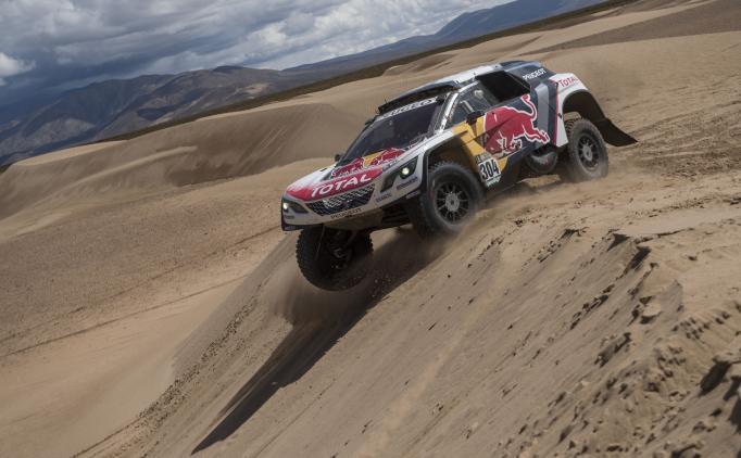 Team Peugeot, Dakar'a ağırlığını koydu