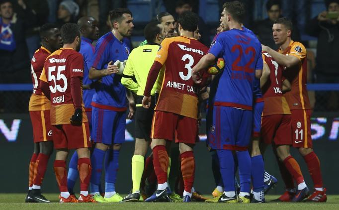 Karabükspor 2 Galatasaray 1 Maç Özeti Ve Golleri 21 Ocak