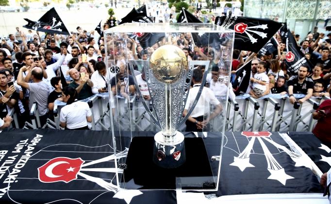 Beşiktaş'ın şampiyonluk kupası Ankara'da
