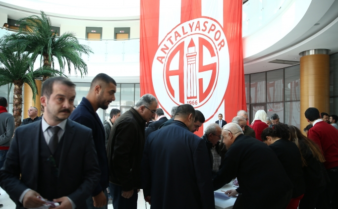 Antalyaspor'un olağanüstü genel kurulu iptal edildi