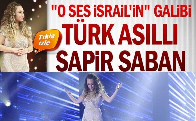 O Ses İsrail'de Türk isim birinci (şampiyon), Sapir Saban kimdir?