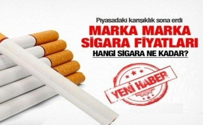 2017 Zamlı Sigara Fiyatları Sigaralar Ne Kadar Kaç Para Oldu