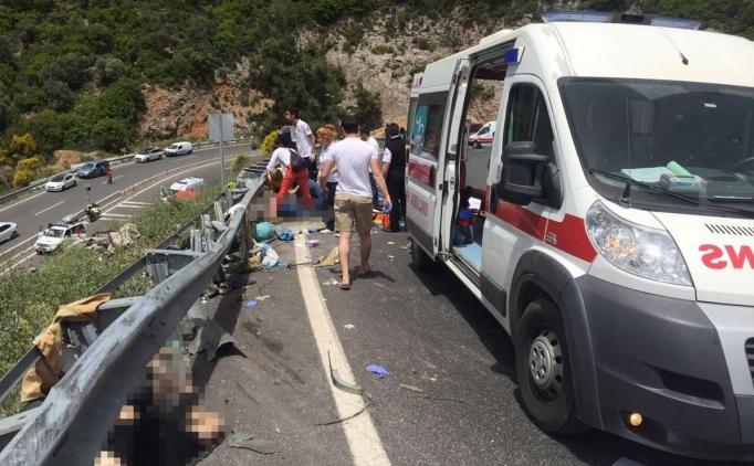 Muğla Marmaris'teki korkunç kazada Anneler Günü ayrıntısı! 23 ölü (Video ve fotoğraf)