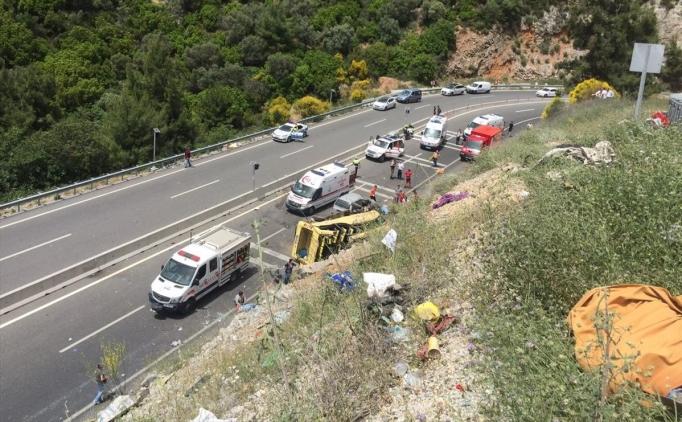 Vali'den Marmaris-Muğla kazasında ölen 23 kişi için açıklama!