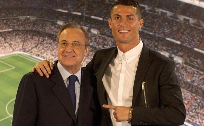 Florentino Perez: 'Ronaldo gitmek isterse 1 milyar euro...'