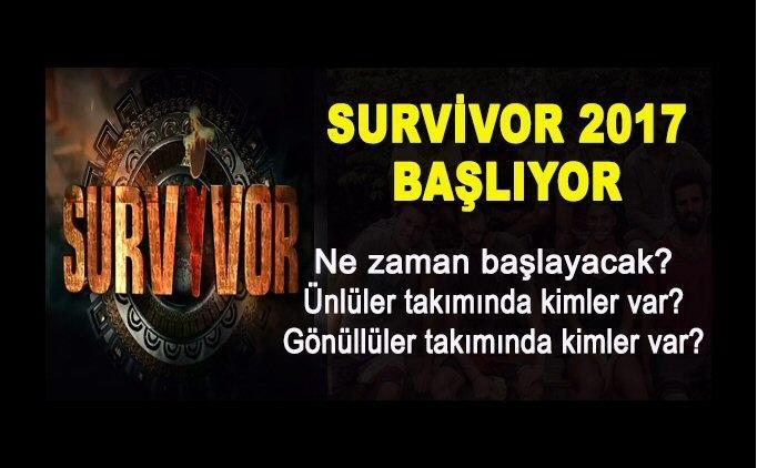 Survivor 2017 Saat Ka Ta Ba Layacak Tv 8 Yay N Ak Listesi G Ndem