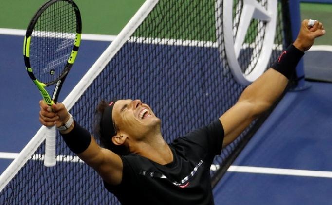 ABD Açık'ta şampiyon Rafael Nadal!