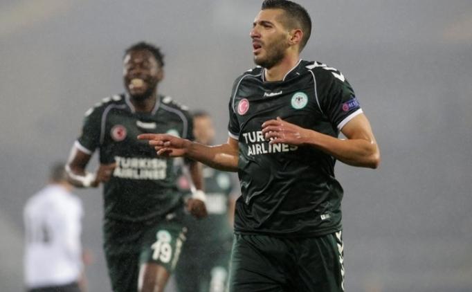 Konyaspor, UEFA Avrupa Ligi'nde kendi kendini yaktı!