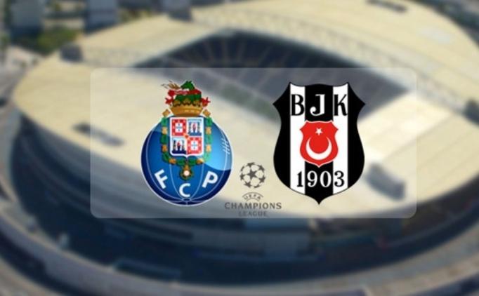 Porto ile Beşiktaş'ın maçı saat kaçta oynanacak?