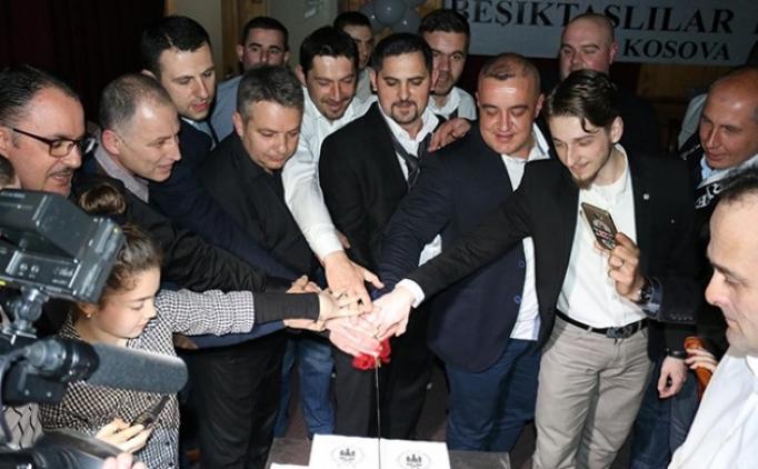 Beşiktaş'ın 114. yılı Kosova'da kutlandı