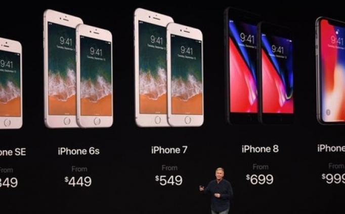İphone8, İphone X Türkiye satış fiyatı ne kadar?