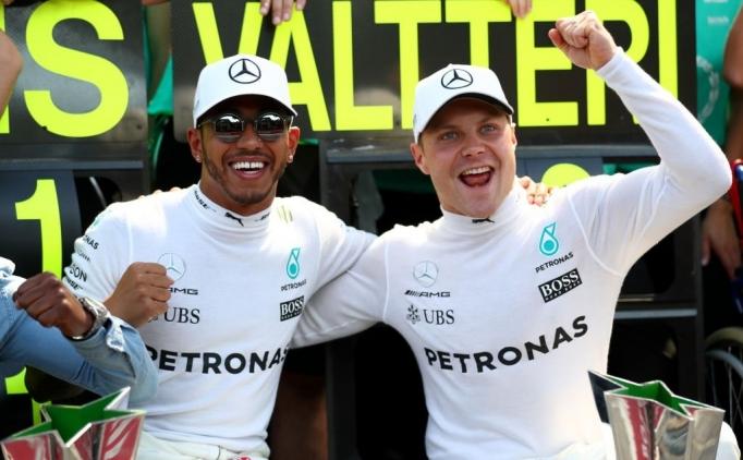 Valtteri Bottas, Mercedes'te kaldı!