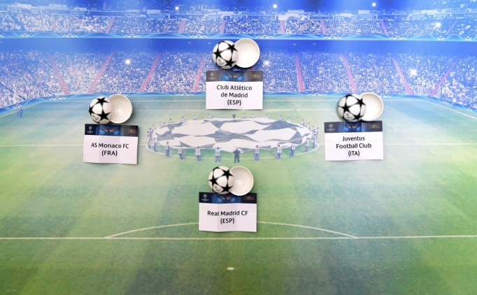 Bugün; UEFA Şampiyonlar Ligi kura çekimi yapıldı, işte eşleşmeler