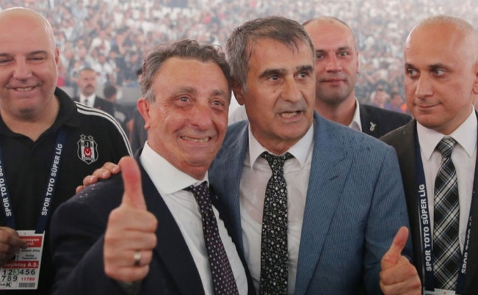 Beşiktaş'ta şampiyonluk sözü ve forvet müjdesi