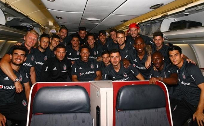 Beşiktaş 5 eksikle Çin'e gitti!
